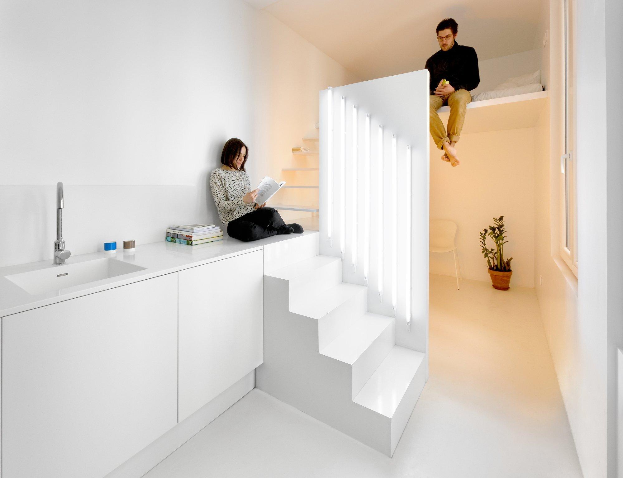 Дизайн квартиры студии 20 квадратов