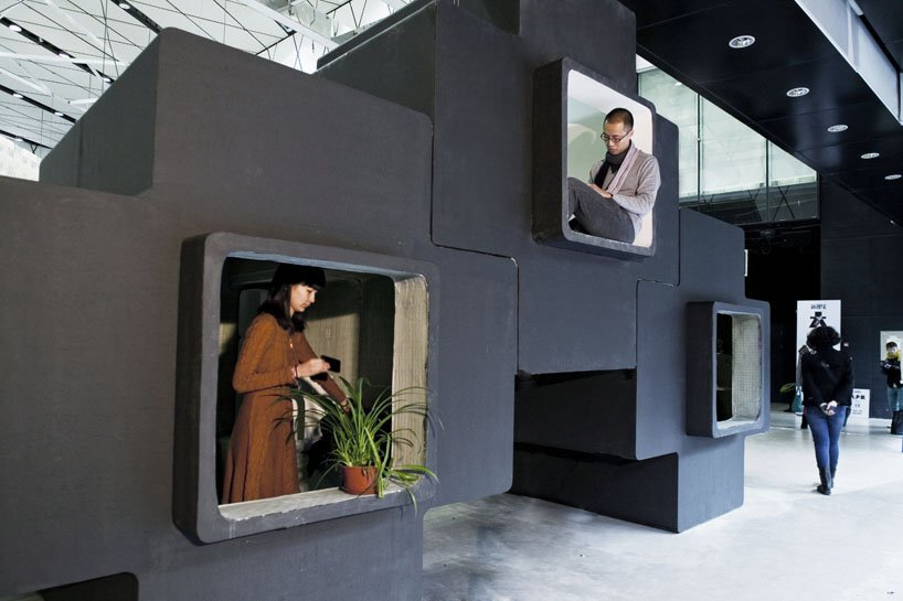 Studio Liu Lubin Tetris Shaped Living Units