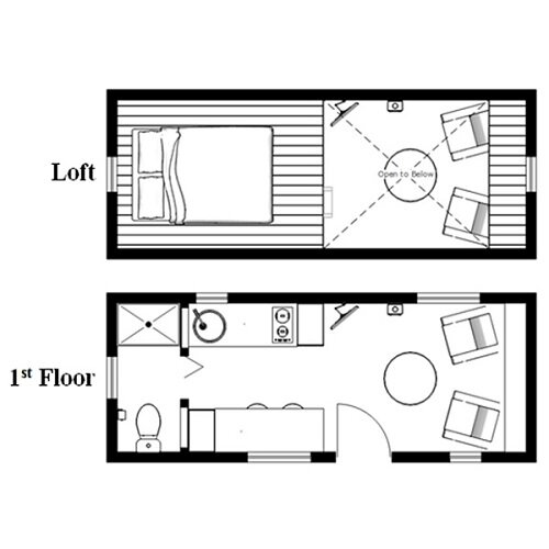 The Humblebee Tiny House Plans