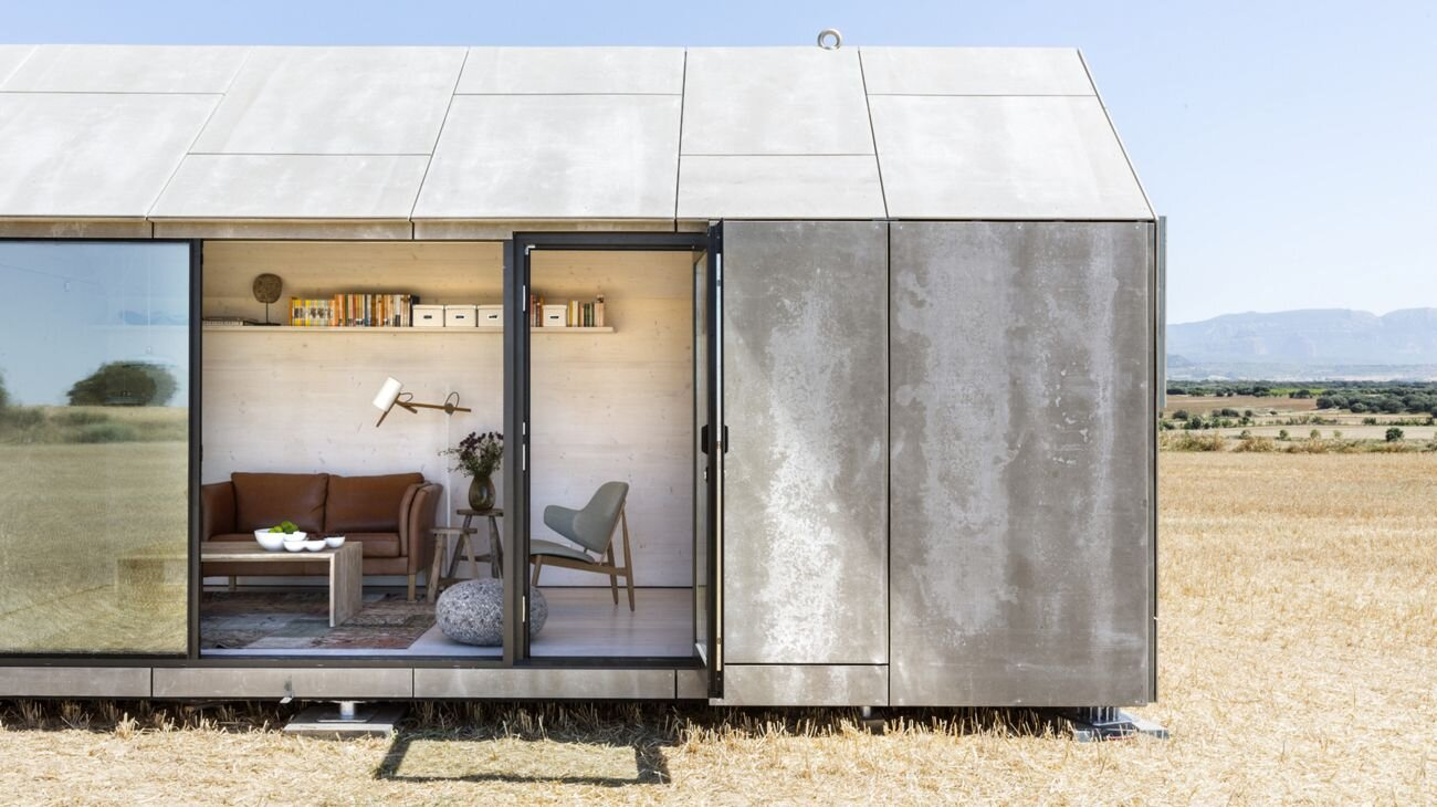 Chamfer House A Modern Eco Chic Tiny House
