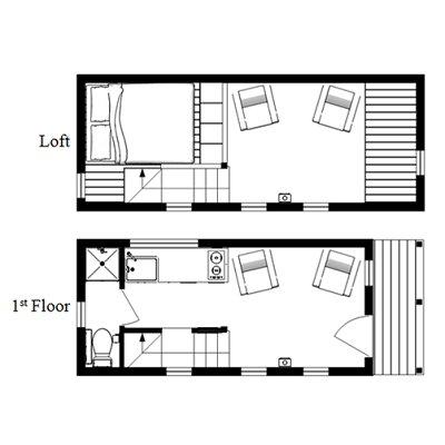 The McG Loft Tiny House Plans
