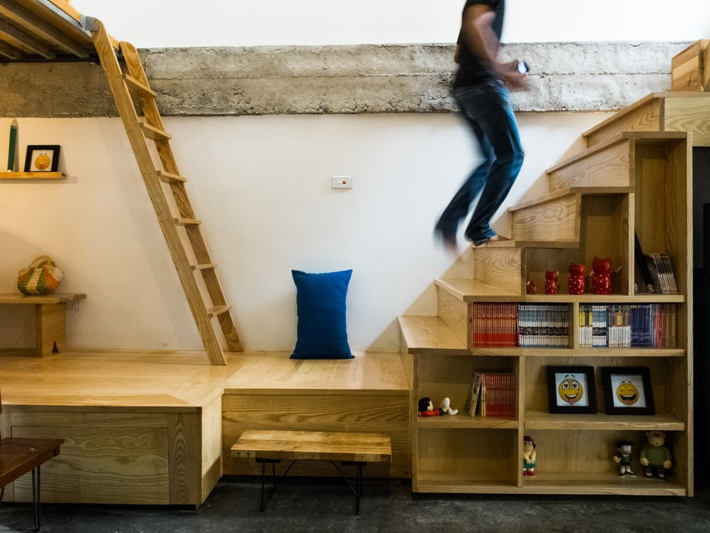 Kn house is a small house that 39 s cosy quirky for Quirky home