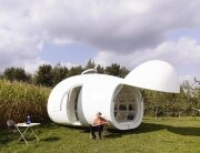 The Blob - a Unique Micro-Home by dmA Architecten