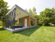 Green Zero Project - A Prefab Space with Green Design