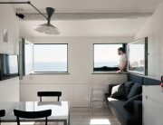 Tiny Apartment on the Italian Riviera by Gosplan Architects