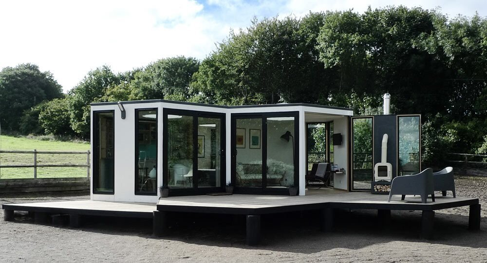 hivehaus modular housing inspired by the beehive ForHive Container Homes
