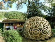 DIY Geodesic Dome by Gianluca Stasi of CTRL+Z Architecture Firm