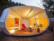 ArchiWorkshop - Worms and Donughts - Glamping Tents - Humble Homes