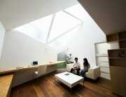 Atelier Tekuto - Tokyo Japan - Small House with Skylight - Study - Humble Homes