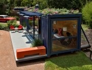 Poteet Architects - Container Guest House - Container Home - Humble Homes