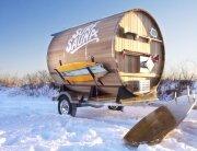 Portable Sauna - Surf Sauna - Portsmouth New Hampshire - Humble Homes