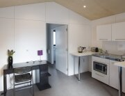 Richard Rogers - Pre-Fab Y-Cube - UK - Tiny House Kitchen & Study - Humble Homes
