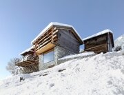 Boisset House in Switzerland by Savioz Fabrizzi Architectes - Exterior - Humble Homes