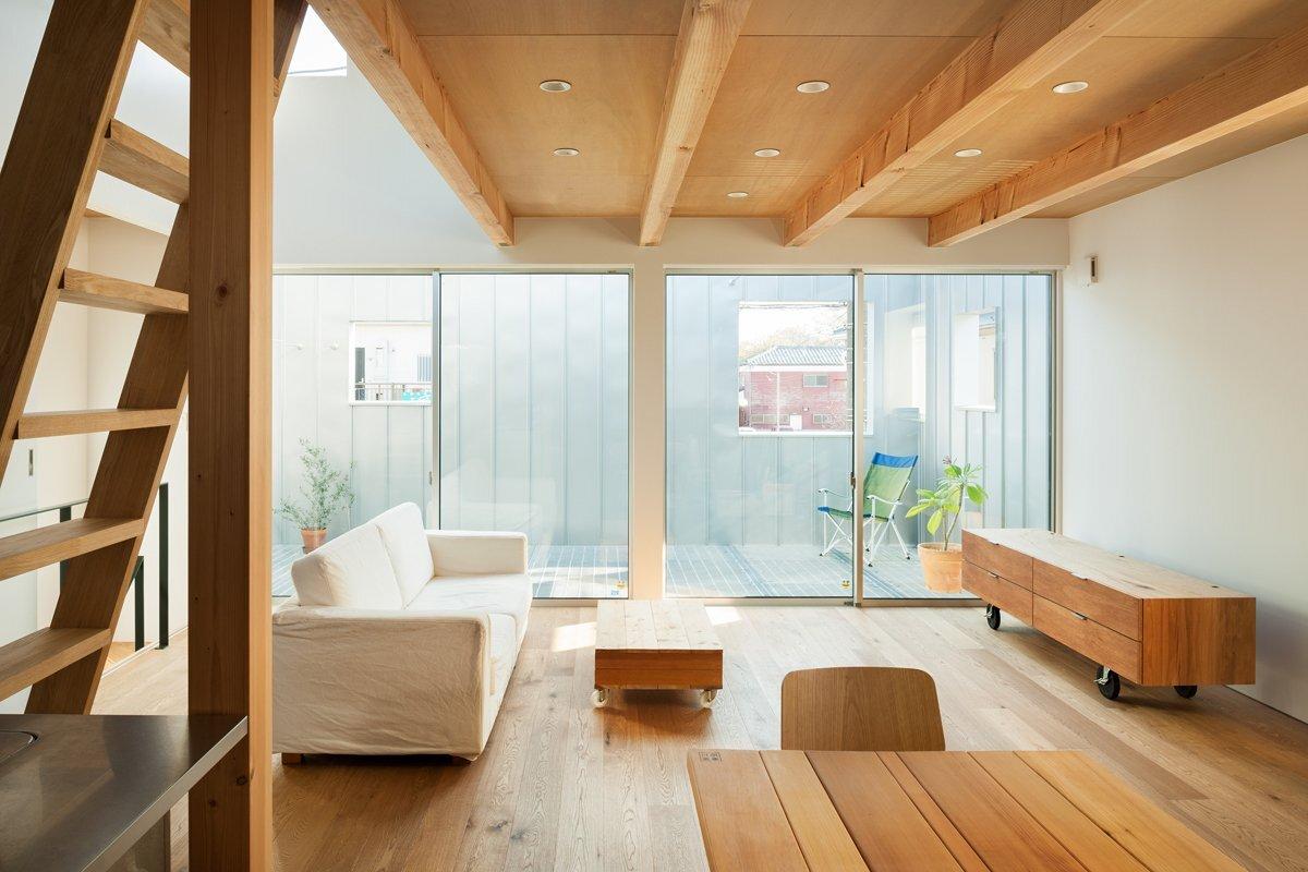 Small house in chibi japan by yuji kimura design for Japanese modern room