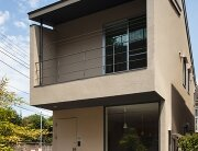 Nakano Fireproof Wooden House - Masashi Ogihara - Nakano, Japan - Small Japanese House - Exterior - Humble Homes