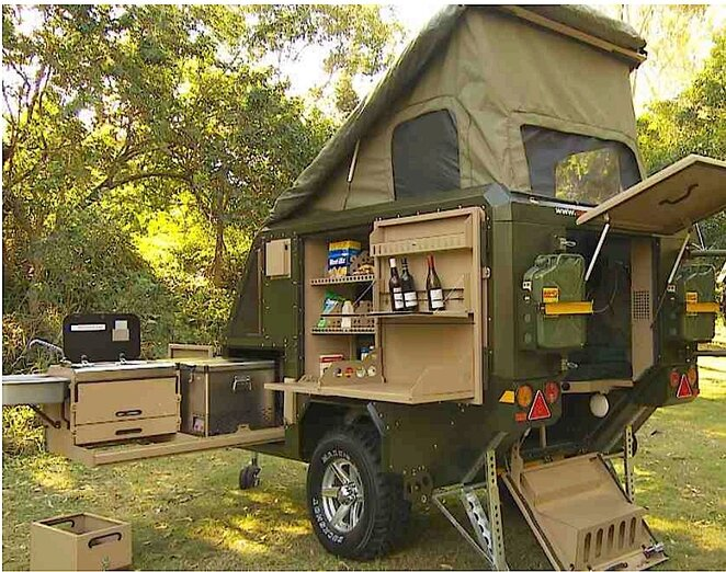 Vehicle UEV440 Conqueror Australia Exterior Humble Homes