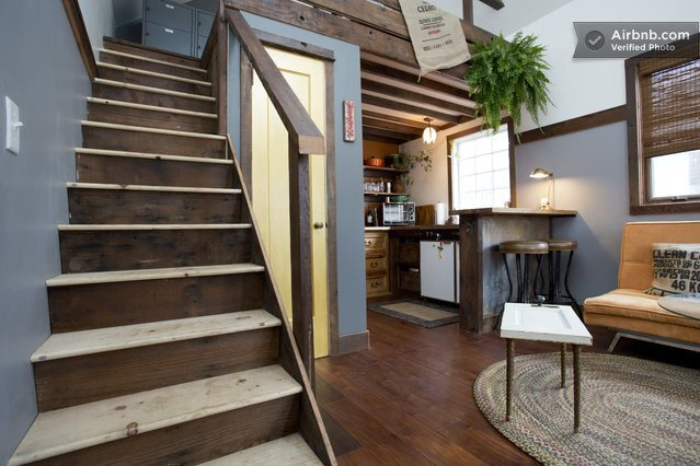 A Rustic Tiny House Made From Reclaimed Materials