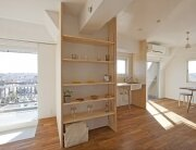 Wing Wall House - Camp Design Inc + Sumosaga Fudosan - Tokyo Japan - Kitchen - Humble Homes