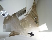 House In Iizuka - Japanese House - Rhythmdesign - Living Area Plan View - Humble Homes