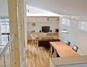 House in Musashisakai - Small House - Upsetters Architects - Tokyo - Japan - Living Room - Humble Homes
