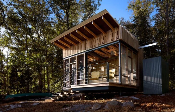 Minimod a prefab off grid house by mapa architects - The off grid tiny house ...