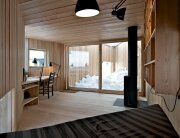 Writers Cabin - Jarmund Vigsnæs Arkitekter - Asker Norway - Living Area 2 - Humble Homes
