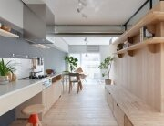 Fujigaoka M Apartment - Small Apartment - Sinato - Tokyo - Kitchen - Humble Homes