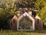 Micro Cluster Cabins - Reiulf Ramstad Architects - Norway - Exterior - Humble Homes