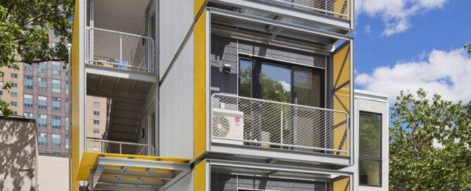 Modular Disaster Housing - Garrison Architects - New York - Exterior - Humble Homes