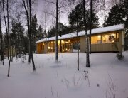 Villa Kallioniemi - Winter Cabin - K2S Architects - Finland - Exterior - Humble Homes