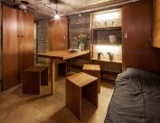B-ILD - Nieuwe Hollandes - Waterlinie-bunker - Dining Area - Humble Homes