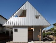 HouseAA - Small House - Moca Architects - Nara City - Exterior - Humble Homes