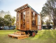 The Upcyclist - Tiny House - James Galletly - Australia - Exterior - Humble Homes