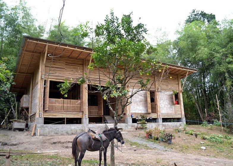 Bamboo House - Convento House - Enrique Mora Alvarado - Ecuador - Exterior - Humble Homes