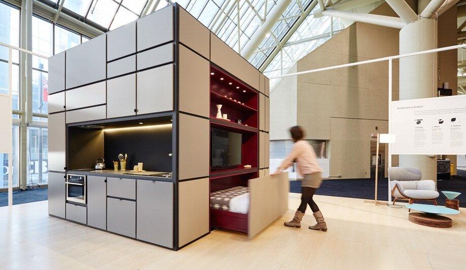 The Cubitat A Modular Living Unit In Toronto