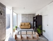 Casa Caja - Low Cost Affordable Housing - Comunidad Vivex - S-AR - Living Room - Humble Homes