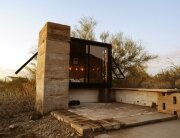 Miners Shelter - David Frazee - Arizona - Front - Humble Homes