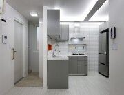 Small Apartments - Suo-Jae - The House to Uphold Myself - Studio GAON - South Korea - Seoul - Kitchen - Humble Homes