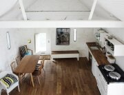 Thursford Barn Restoration - Lynch Architects - Norfold - Small Cottage - Living Area - Humble Homes