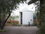 Tiny House - Coverted Grain Silo - Christoph Kaiser - Arizona - Exterior - Humble Homes