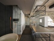 Tokyo Loft - G Architects - Small Apartment - Kitchen and Bathroom - Humble Homes