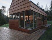 Cabin Laksvatn - Hamran Johansen Arkitekter - Norway - Exterior - Humble Homes
