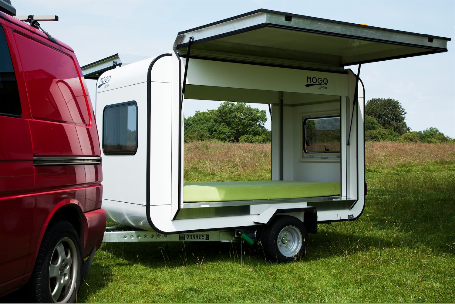 mogo freedom a tiny gull wing travel trailer - Tiny Camping Trailers