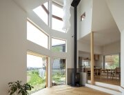 The Frontier House - Small Japanese House - Mamiya Shinichi Design Studio - Toyoake Japan - Living Area - Humble Homes