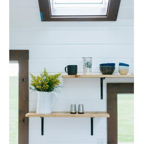 Turtle Tiny House Kitchen Shelving