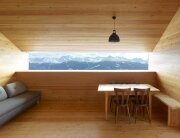 Gaudin House - Small Cabin - Savioz Fabrizzi Architectes - Switzerland - Window View - Humble Homes