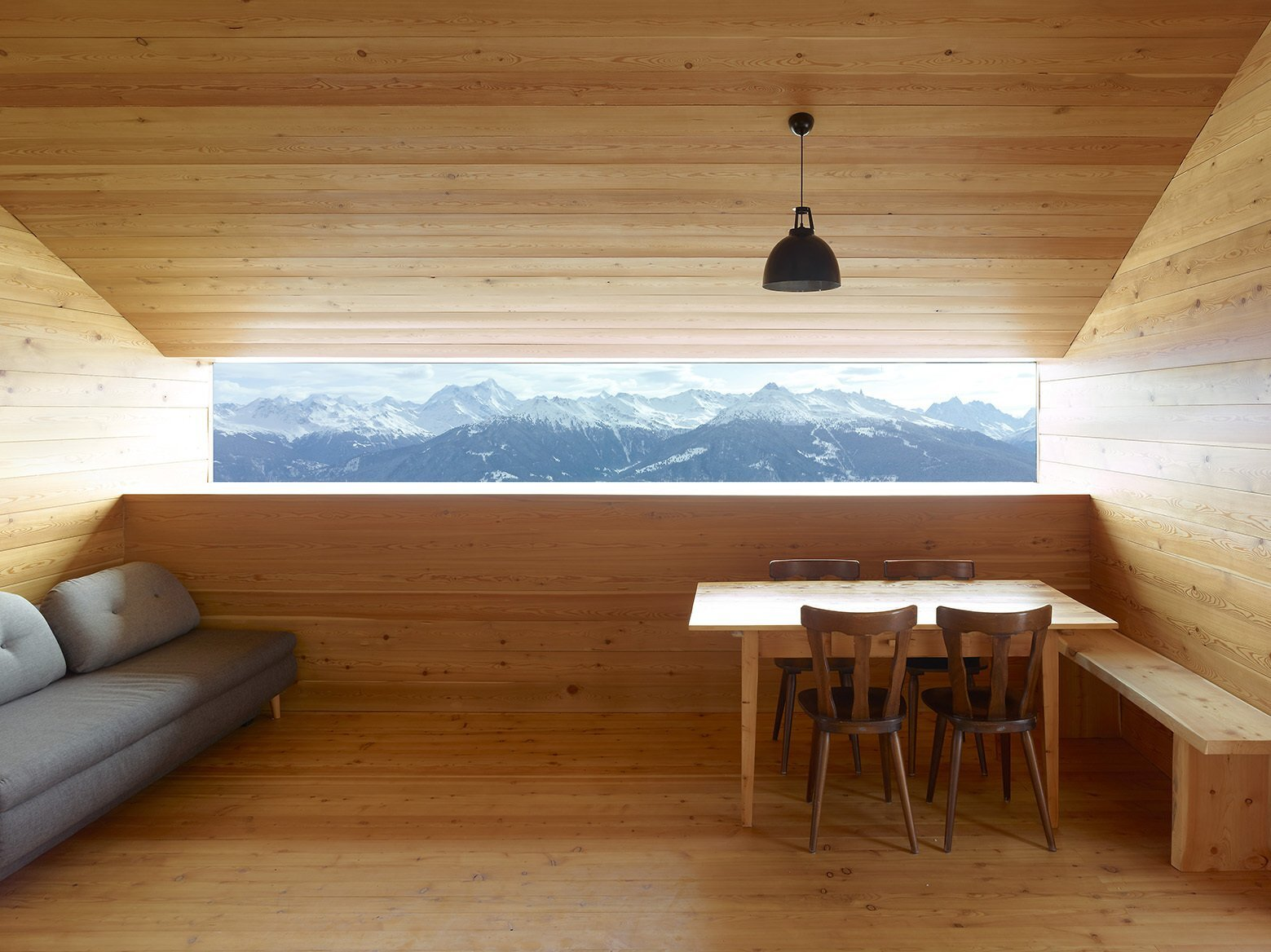 Gaudin House U2013 Barn Transformed Into A Small Cabin In The Swiss Alps