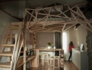 Paris Apartment Redesign - Fabbricabois - Timber Loft 1 - Humble Homes
