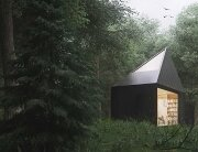 Small Forest Cabin - Tomek Michalski - Poland - Exterior - Humble Homes