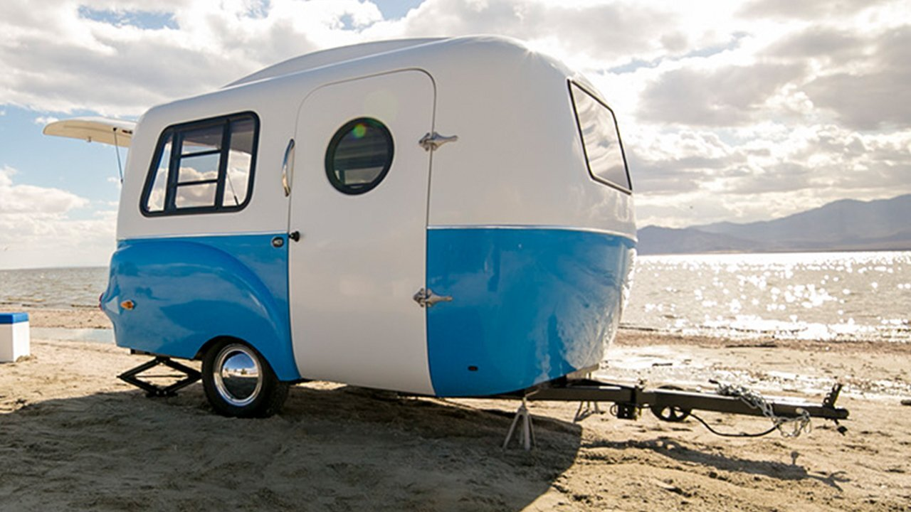 Happier Camper S Hc1 Is A Retro Travel Trailer With Style